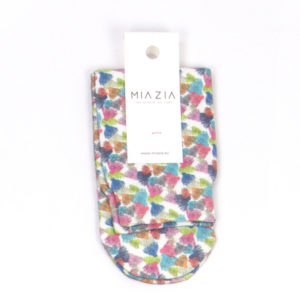 Fun life patterned bandless socks