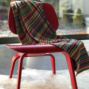 Striped Plaid on chair Solo